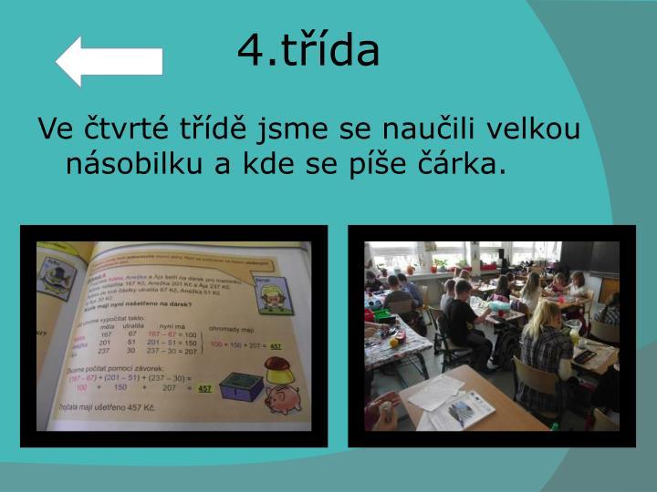 4.třída