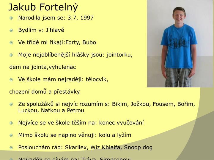 Jakub Fortelný
