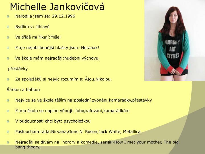 Michelle Jankovičová