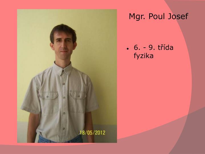 Mgr. PoulJosef