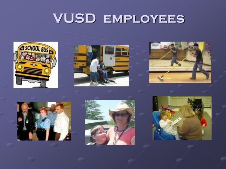 VUSD  employees
