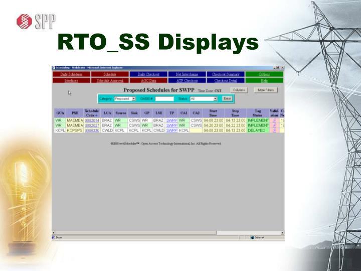 RTO_SS Displays