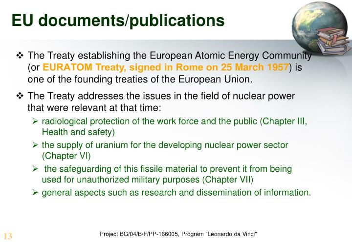 EU documents/publications