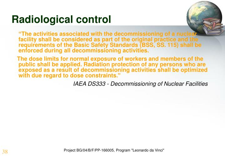 Radiological control