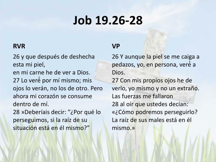 Job 19.26-28