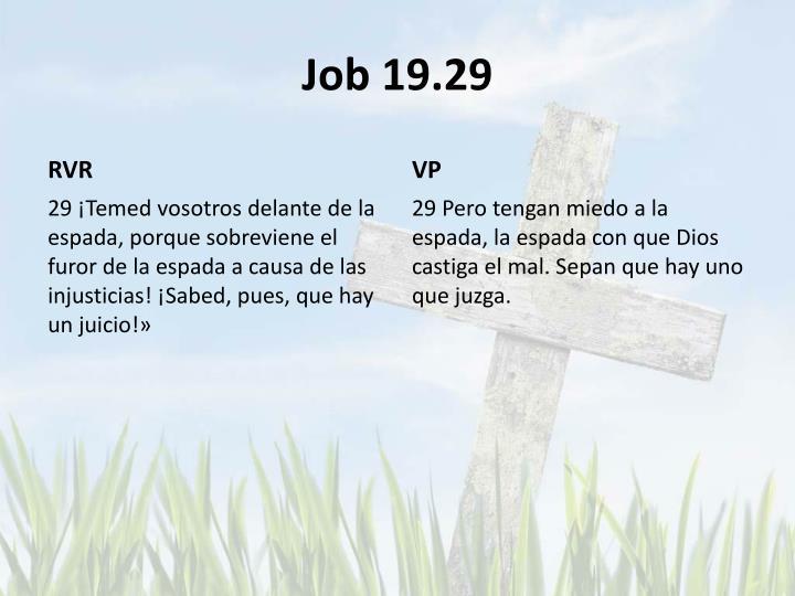 Job 19.29