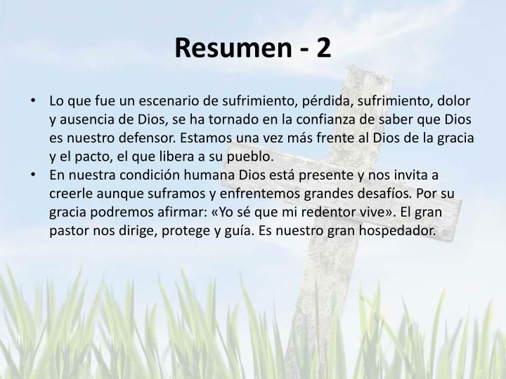 Resumen - 2