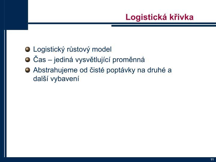 Logistická křivka