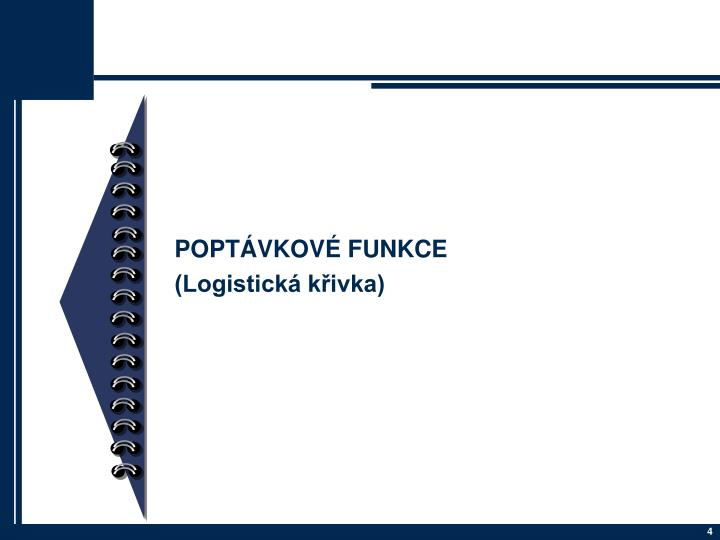 POPTÁVKOVÉ FUNKCE