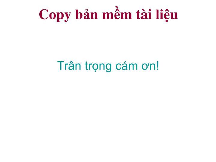 Copy bản mềm t