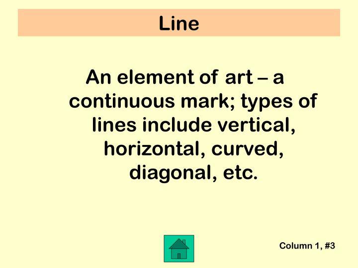 Column 1, #3
