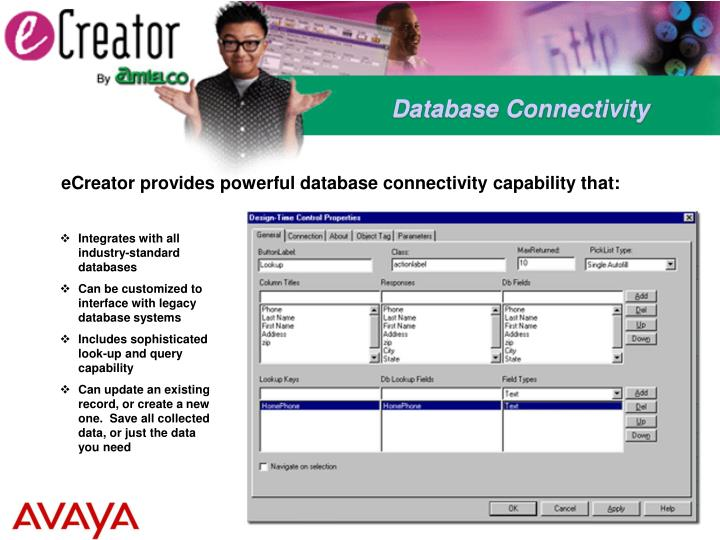Database Connectivity