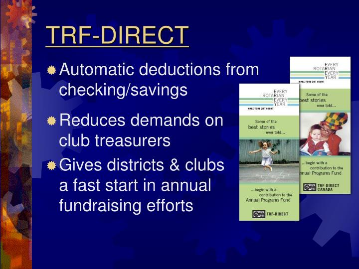 TRF-DIRECT