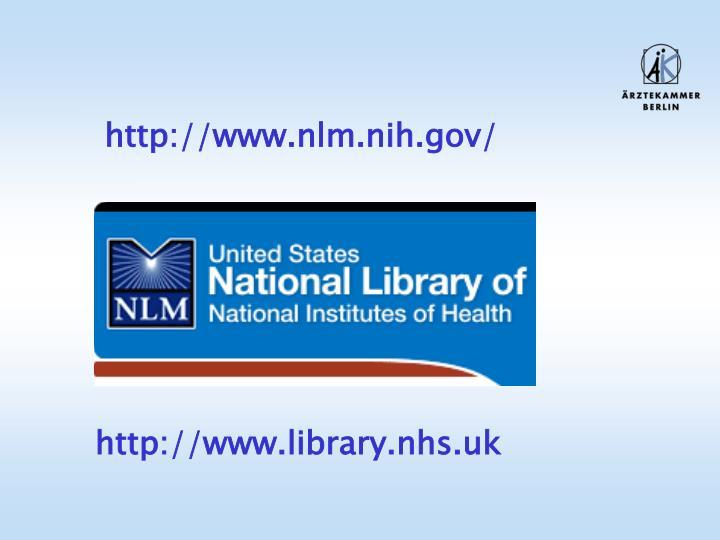 http://www.nlm.nih.gov/