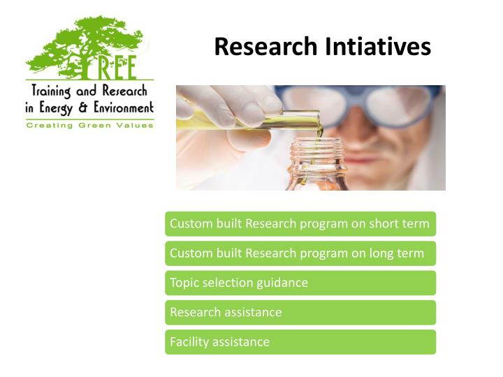 Research Intiatives