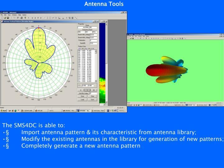 Antenna Tools