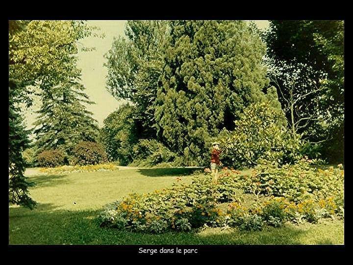 Serge dans le parc