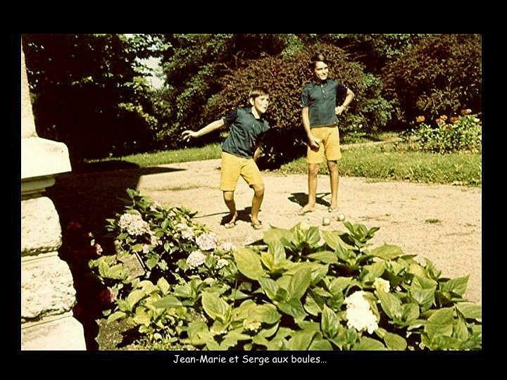 Jean-Marie et Serge aux boules…