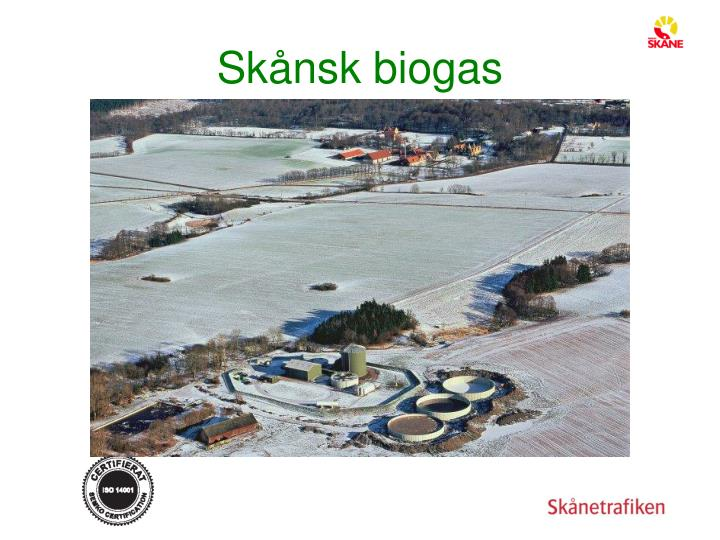 Skånsk biogas