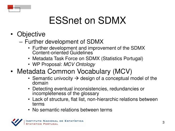 ESSnet on SDMX
