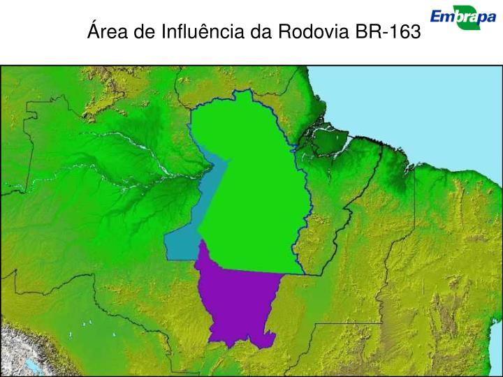 Área de Influência da Rodovia BR-163