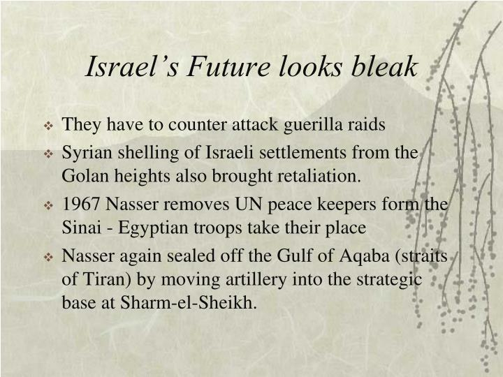 Israel's Future looks bleak