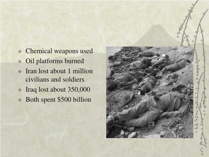 Chemical weapons used