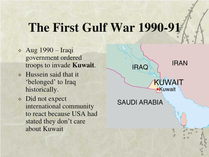The First Gulf War 1990-91