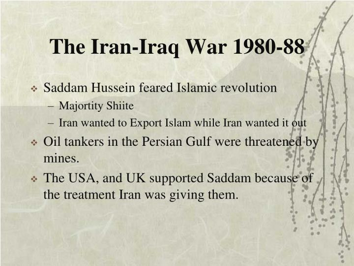 The Iran-Iraq War 1980-88