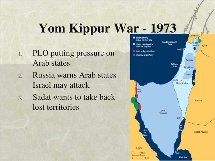 Yom Kippur War - 1973