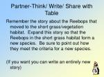 partner think write share with table