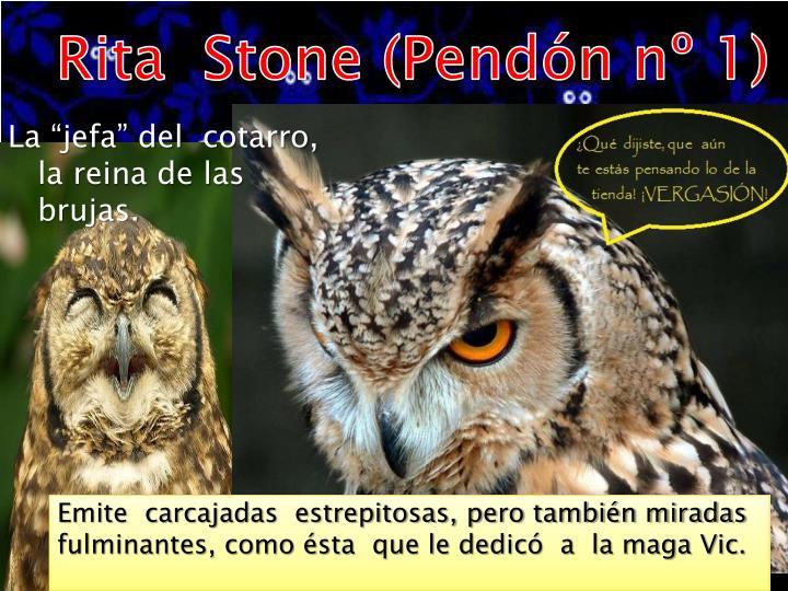Rita  Stone (Pendón nº 1)