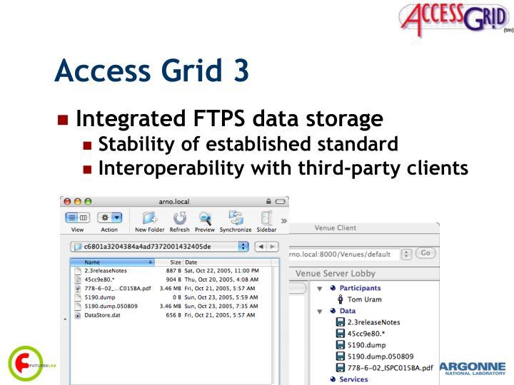 Access Grid 3