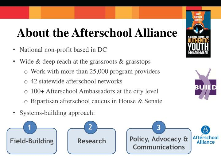 About the Afterschool Alliance