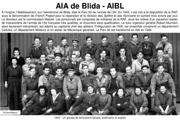 AIA de Blida - AIBL