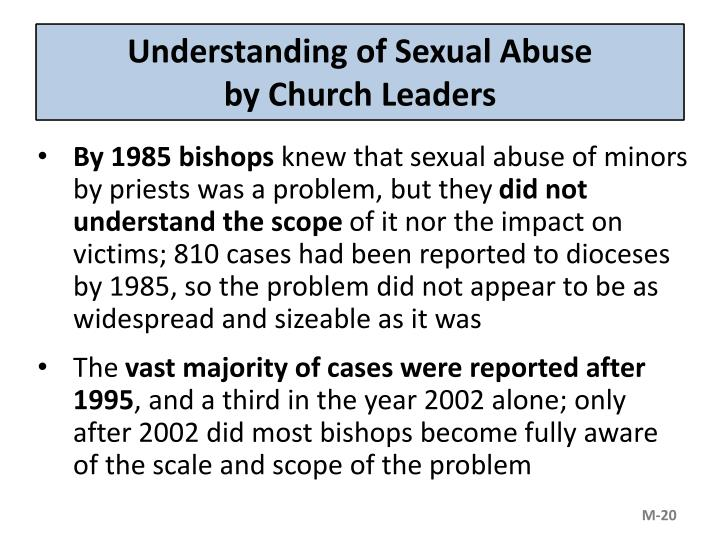 Understanding of Sexual Abuse