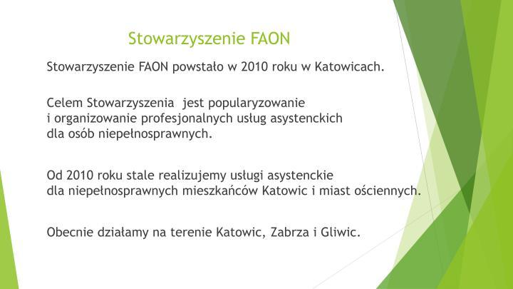 Stowarzyszenie FAON