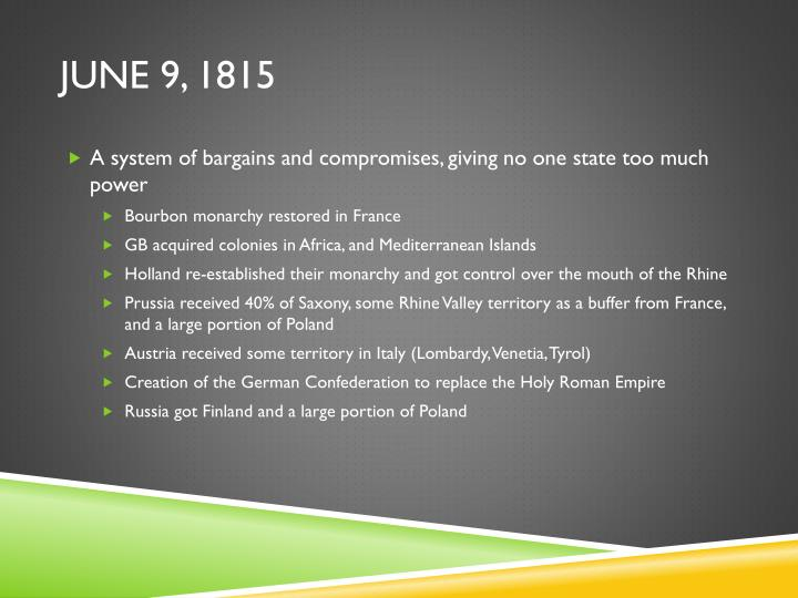 June 9, 1815