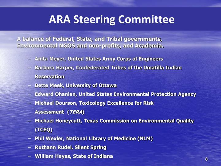 ARA Steering Committee