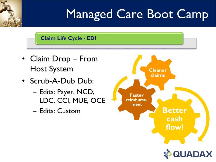 Managed care boot camp1