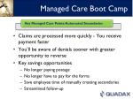 managed care boot camp5