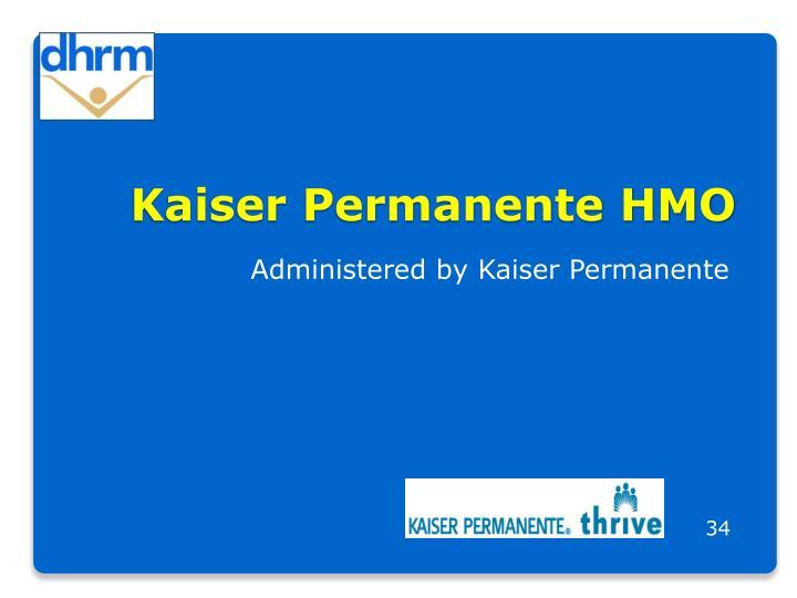 Kaiser Permanente HMO