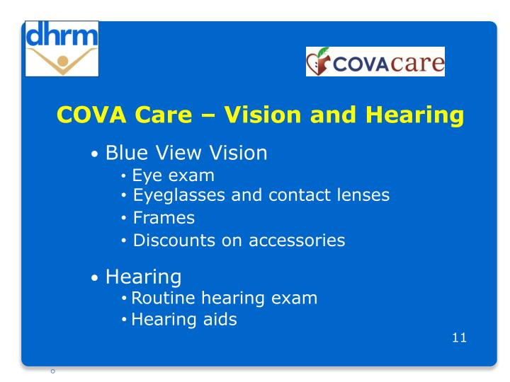 COVA Care – Vision and Hearing