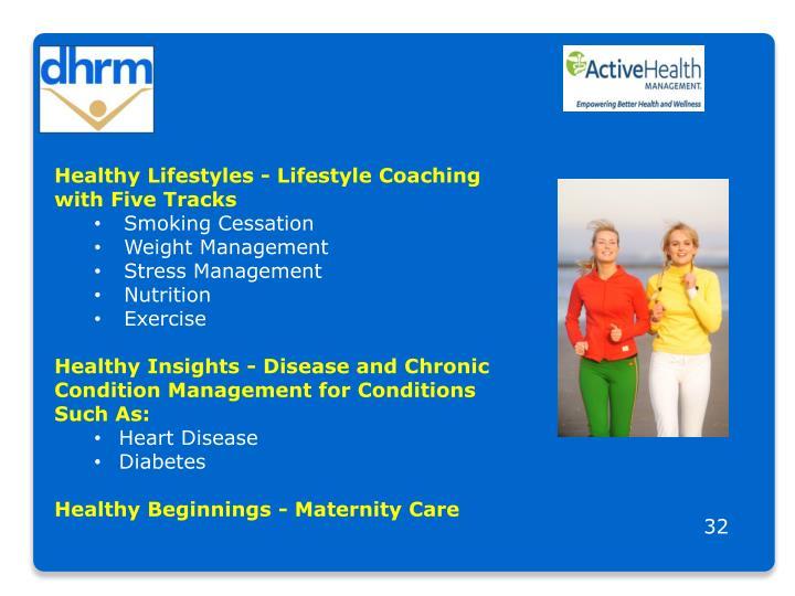 Healthy Lifestyles - Lifestyle