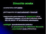 sinusite acuta
