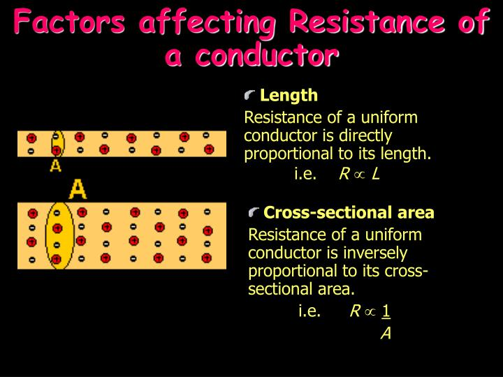factors affecting resistance wire The resistance of a typical conducting wire is low when temperature is low and high when temperature is high the increase in resistance alongside temperature is due to an increase in energy of the.