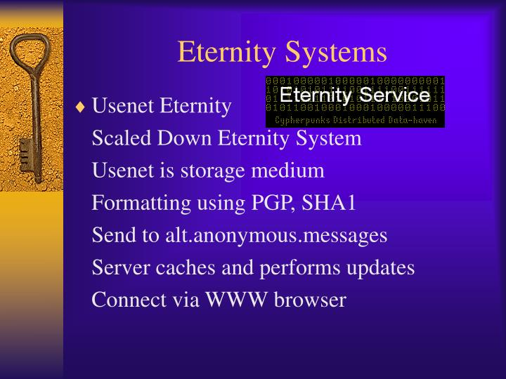 Eternity Systems