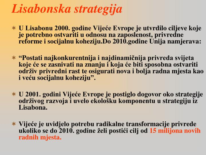 Lisabonska strategija