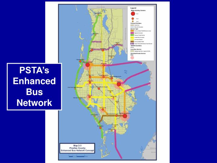 PSTA's Enhanced Bus Network