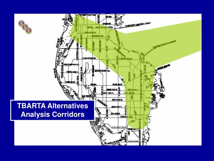 Alternatives Analysis Corridors/ Centers